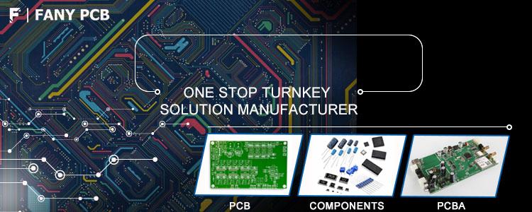 Antena de alta freqüência profissional Rogers 4003C 4350B material pcb fabricante PCB
