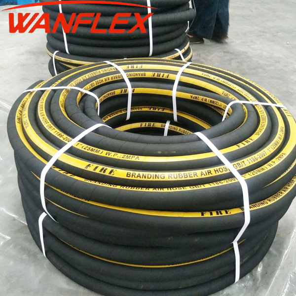 Air/Water Rubber 300 psi Industrial Hoses Flexible Air Hose