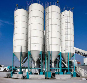 100M3 Hopper Bottom Steel Silos For Coal Storage