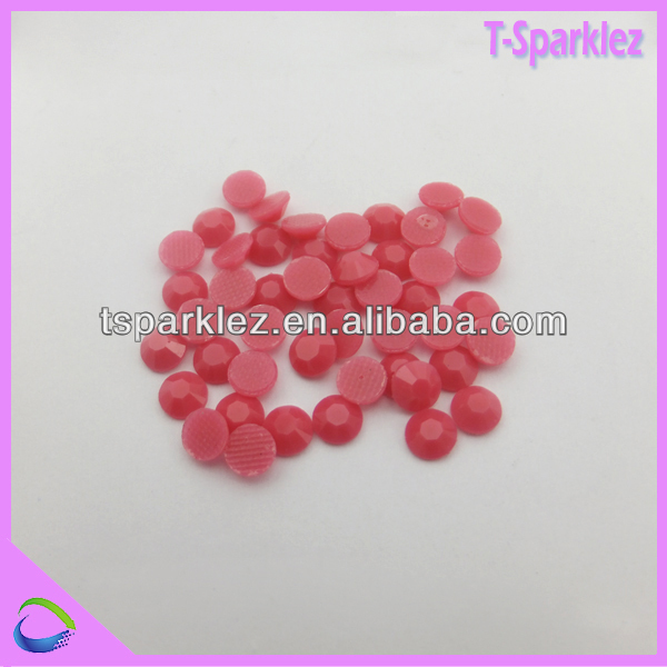 jewelry decorate resin rhinestone hot fix stones for clothes