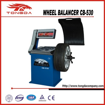 2017 CHINA AUTOMATIC CAR WHEEL BALANCER CB-530