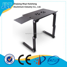 JLT Folding Multifunction adjustable aluminum notebook stand Laptop Table