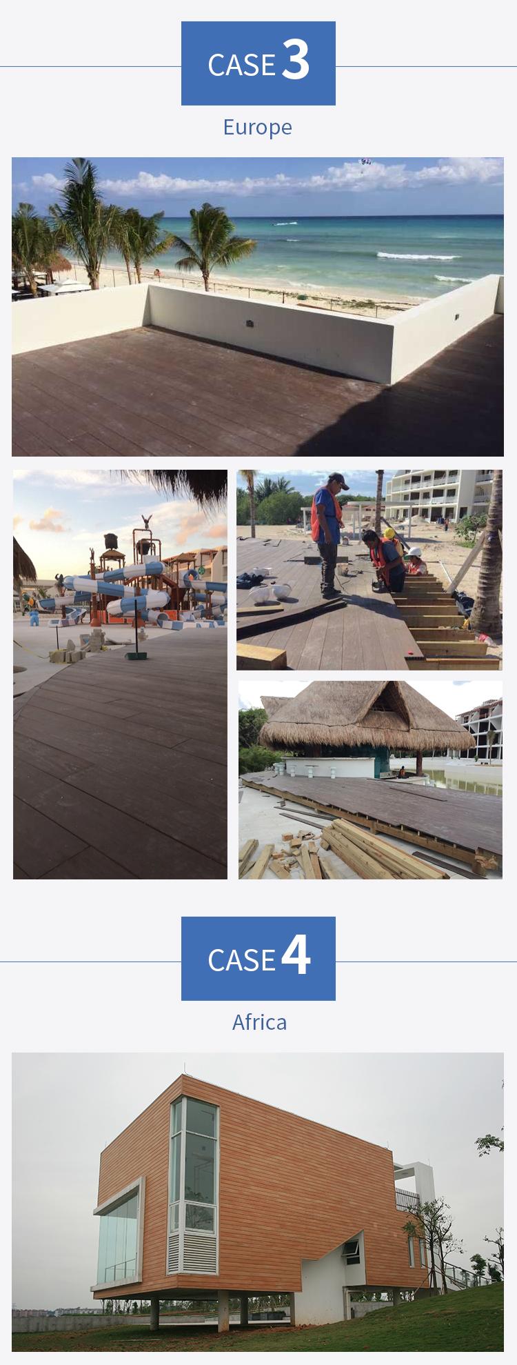 Waterproof 15 Years Warranty Teak Wood Lumber Flooring
