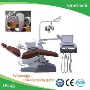 High configuration dental chair instrument with multi accessories / Popular dental unit lab equipment price DC23