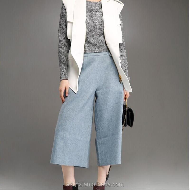 high-end leisure retro loose wide jogger pants perfect match for women's harem pants guangzhou wholesale market