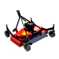 Small tractor 3 point flail mower for sale