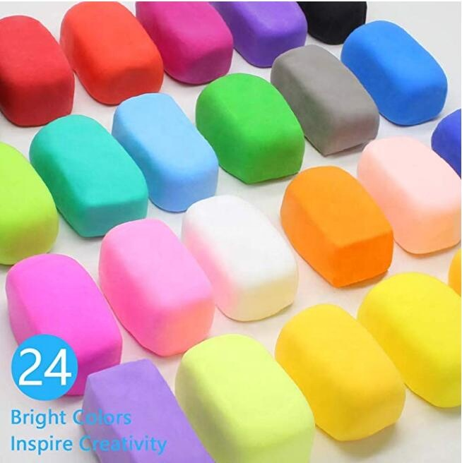Super light แห้งเร็ว modeling clay air dry clay polymer putty ball clay