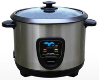 korea design eletrical Cylinder rice cooker with stainless steel inner pots