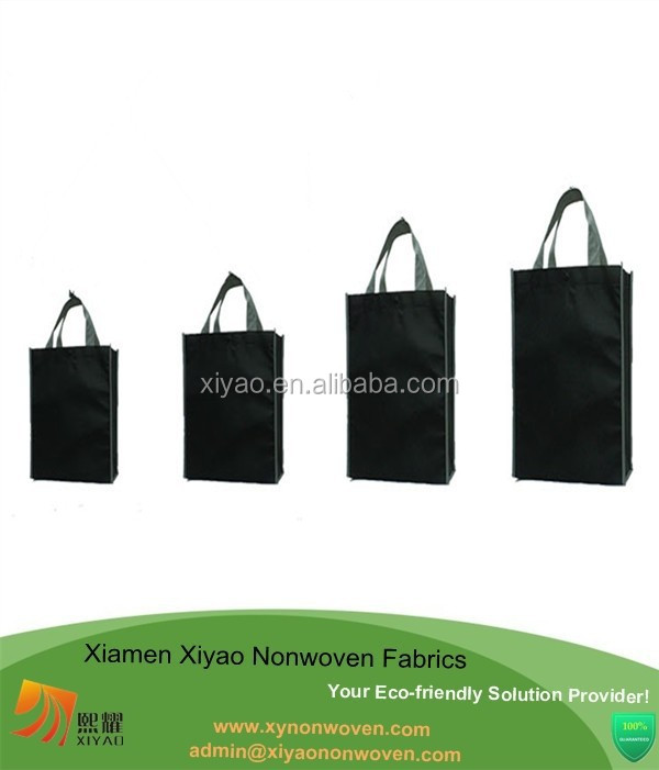 Wholesale Non-Woven Gift Present Bags Shopping Tote Totes 16cm x 6cm x12cm
