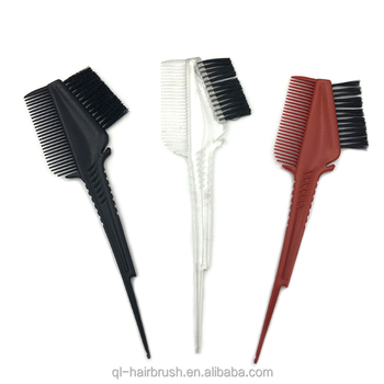 New Hair Brush Colour Tint Dye Relax Brushes Highlight Wax Silicone Comb Buy Dye Tint Brush Dye Color Brush Plastic Hair Color Comb Product On