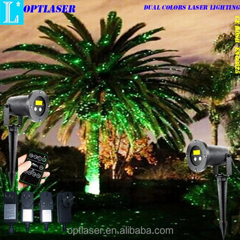 Gift Christmas Laser Lights to Red and Green laser light up your whole Xmas season