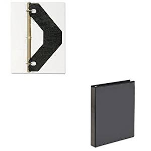 KITAVE19600AVE75225 - Value Kit - Avery Economy Showcase View Binder with Round Rings (AVE19600) and Avery Triangle Shaped Sheet Lifter for Three-Ring Binder (AVE75225)