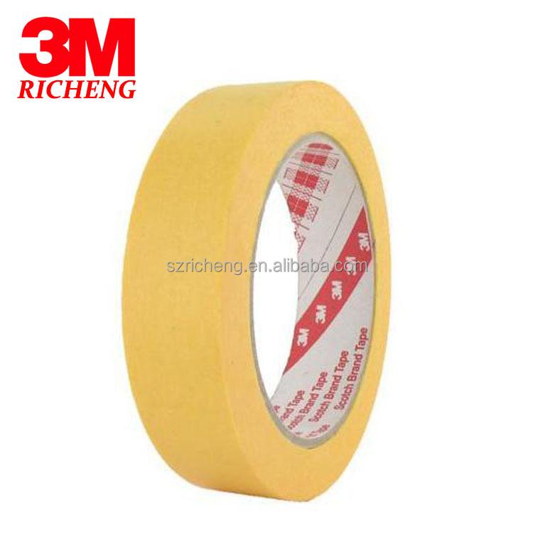 3m masking tape yellow