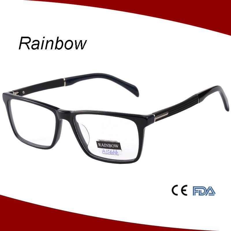 2015 women eyeglasses frame optical frame with TR part temple design eyewear spectacle frames A15466
