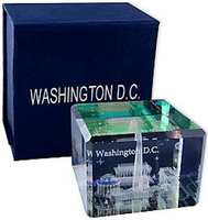Washington Dc 3-d Crystal Cube,Washington Dc Souvenirs,Washington ...