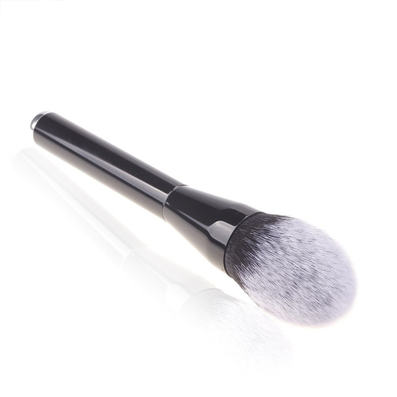 Flame Shape Big Round Soft Fiber Makeup Brush Foundation Powder Blusher Shadow Contour Cosmetic Blending Mixing Pro Beauty Tool