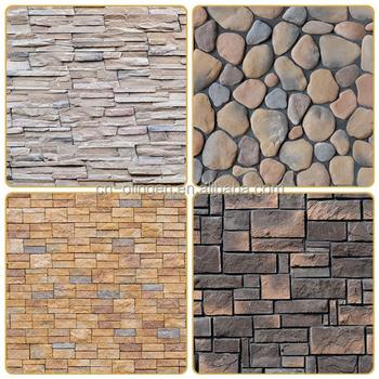 Piedra de imitaci n a azulejos de la pared revestimientos - Imitacion a piedra para paredes ...