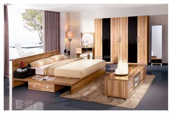 modern bed hout venner goedkope slaapkamer dressoir meubels