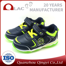 New design wholesale kid led light shoes for boys