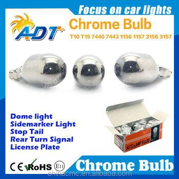 Hot Deals 7443 7440 T20 1156 1157 3156 3157 Chrome Bulb Chromed ...