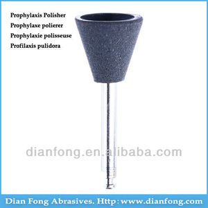 Ar108C Black RA Shank Low Speed Cup Silicone Rubber Prophylaxis Polisher For Polishing Ceramic Dentists Products