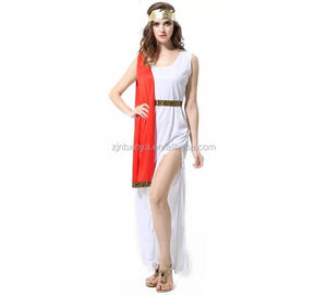 6e8e121b669 Halloween Carnival Party Cheap white women Greek Roman Toga costume Goddess  Fancy dress costume