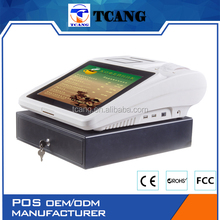 Tuocang TA-TOUCH1208 Let You Get More Profit Resistive two touch FLAT EPOS openbravo pos for gym