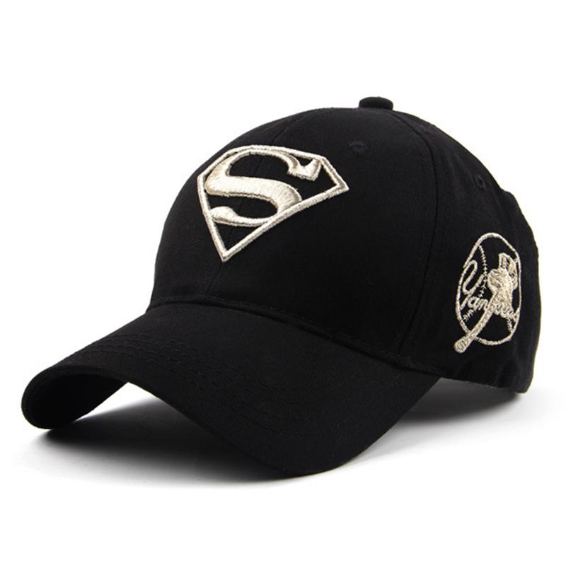 official photos 89f96 5db6c Get Quotations · Classic Superman Baseball Cap Bone Superman Snapback Hats  For Adult Cotton Material Size 55-59cm