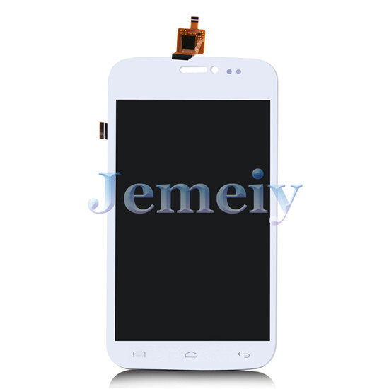 Phone Touch Panel Replacement Assembly White For Wiko Darkside, Touch Screen Digitizer + Glass Lens LCD Display + Tools