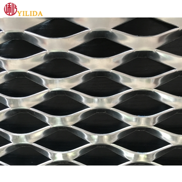 big strand aluminium expanded metal <strong>mesh</strong> for decoration