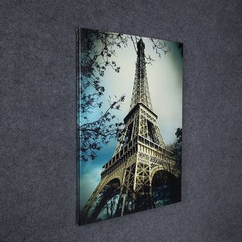 Paris Eiffel Tower Poster Living Room Wall Art Print Picture Home Decor Canvas
