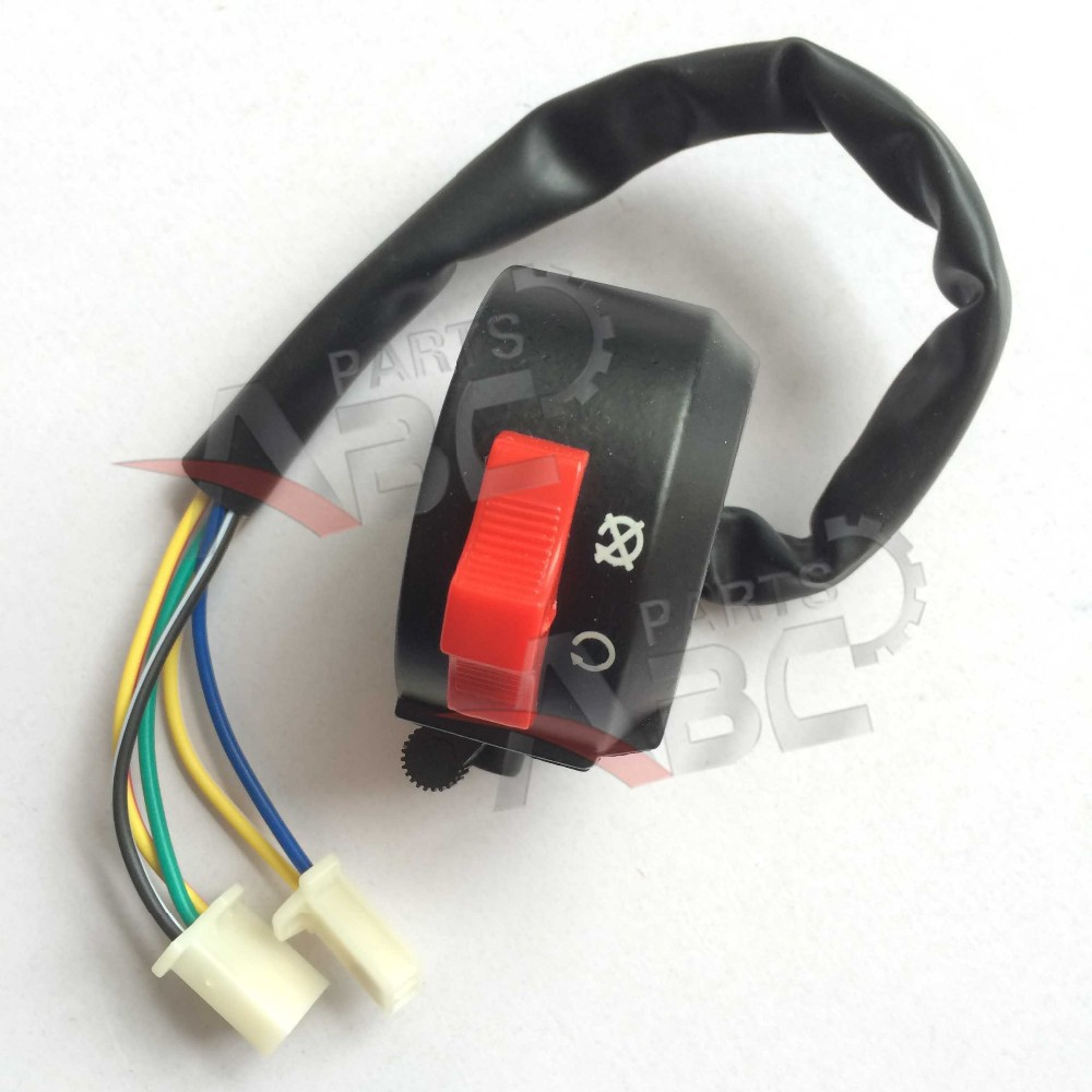 New Type KAZUMA Meerkat 50CC ATV Left Handle bar switch Assy