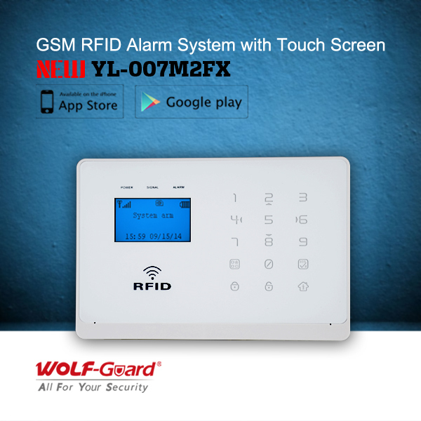 Wireless Burglar Alarm System(yl-007m2bx) Wolf-guard Gsm Home ...