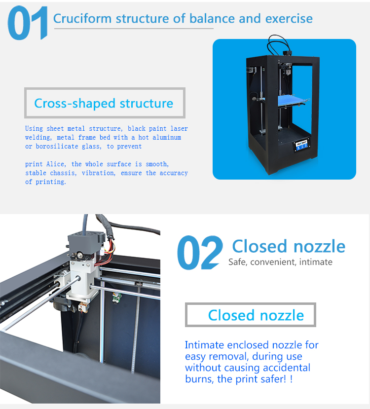 3d glass printing machine