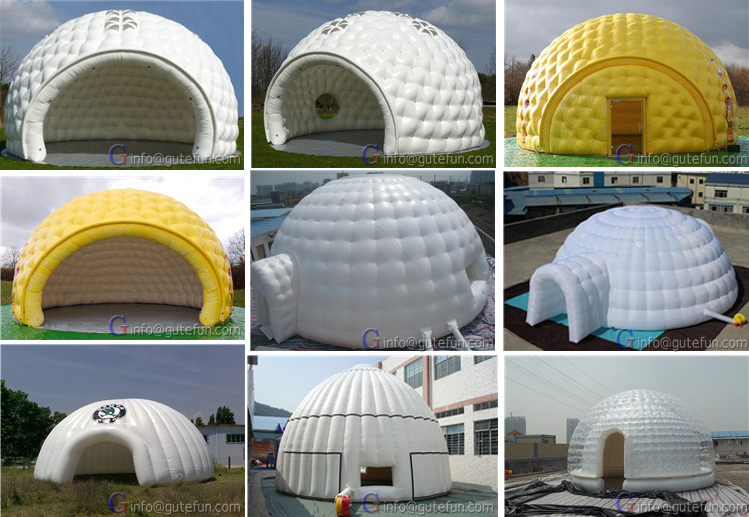 Excellent Quality Outdoor Camping Inflatable Igloo Tent ...