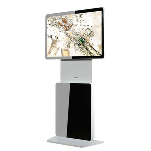 47inch touch screen rotating lcd totem/digital signage kiosk