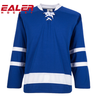 wholesale custom team ice hockey jerseys with embroidered or sublimation logo tackle twill name and number