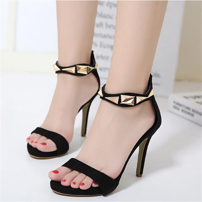 ladies summer high heel sandals, ABF