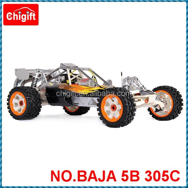 1/5 sales car 30.5cc RC Rovan Baja 5B with 2.4G 3 channel controller