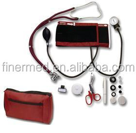 Sprague Rappaport stethoscope and sphygmomanometer nurse kit