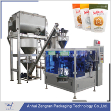 CF6-200A Automatic 6-station premade bag rotary packing machine