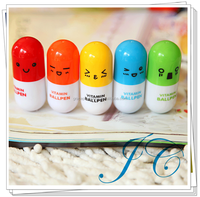 Rounded Cartoon Plastic Ball Pen
