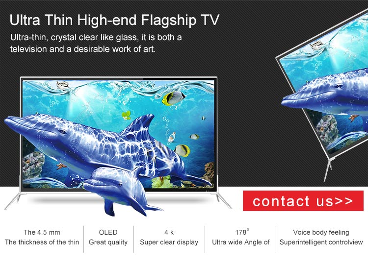 China Guangzhou 12 years TV factory Hot sale latest model smart led full 55 inch hd big tv