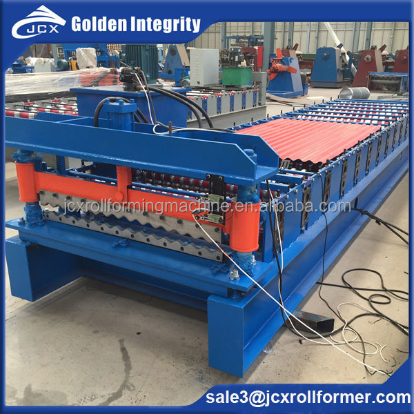 2016 new type big wave wall panel or roof sheet roll forming machine for sale