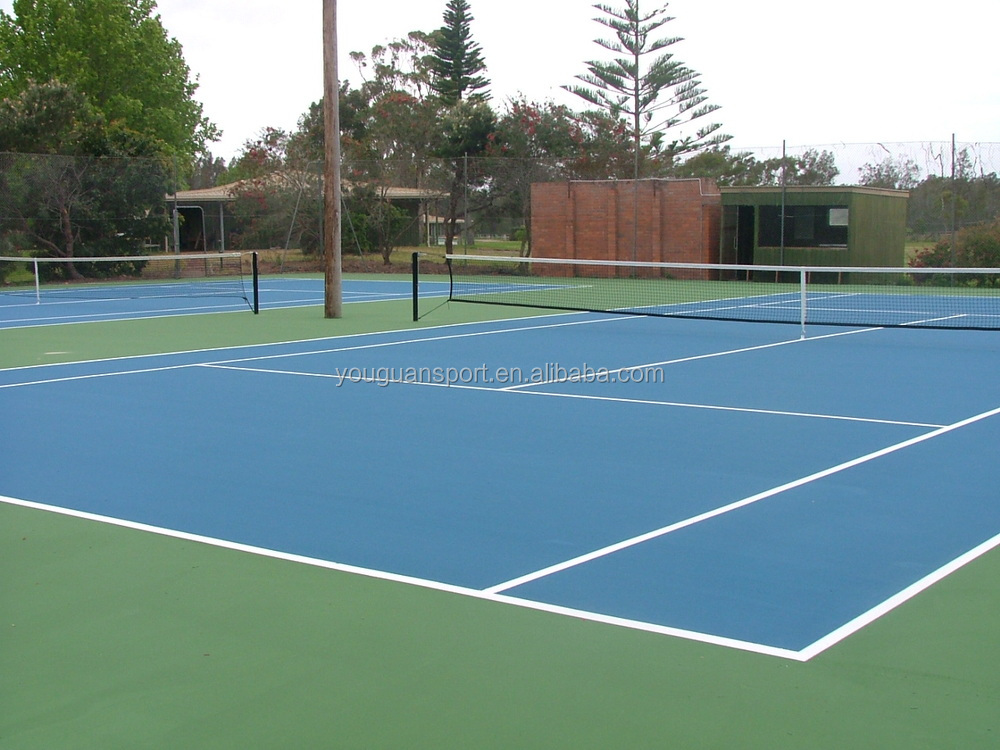 Indoor sports flooring for badminton court table tennis for Sport court