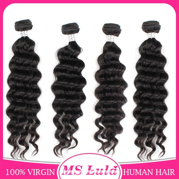 Grade 7a 100% virgin human brazilian hair indian hair weaving