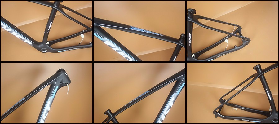 THRUST Full T800 Free Shipping Carbon 29er MTB Frame 650B 15/17/19 inches Hot Selling MTB Frames