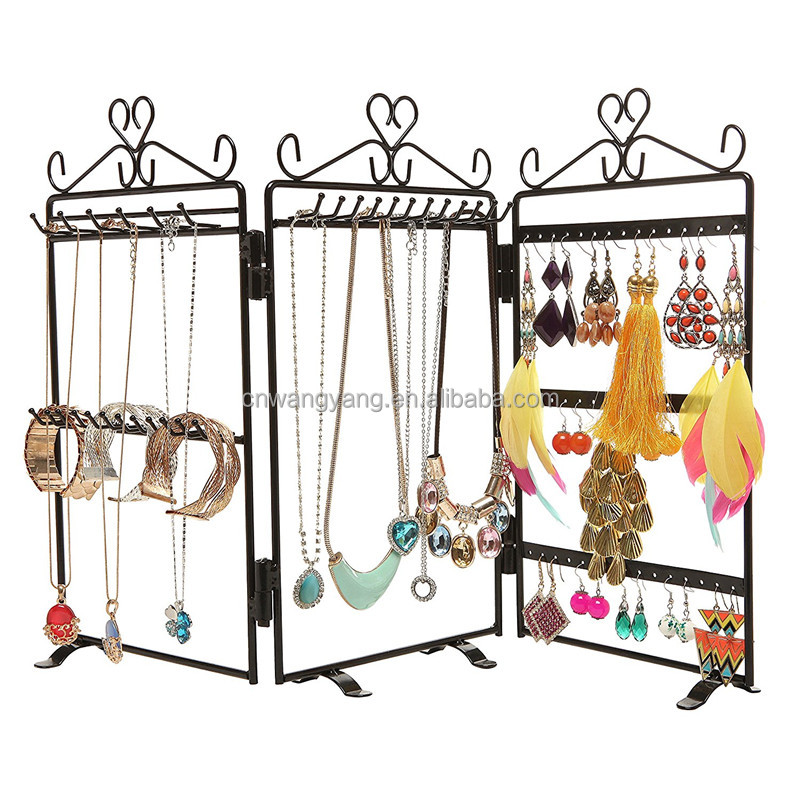 2017 Hot-selling fast delivery jewelry display stand,jewelry display shelves
