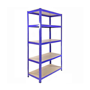 pre-punched holes in the welded 5 tier adjustable heavy duty shelving boltless warehouse storage rack