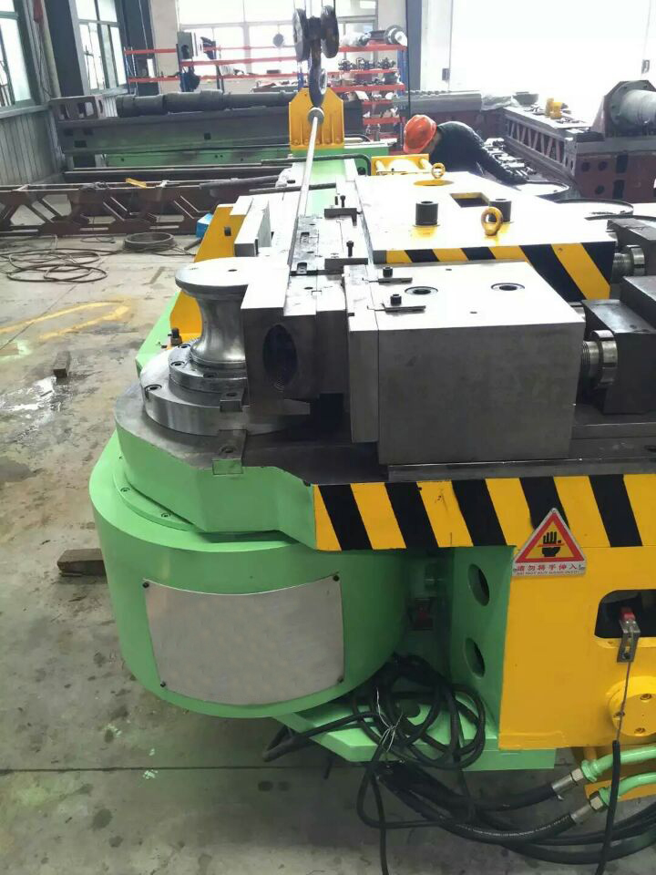 CNC heavy duty exhaust pipe tube bending machine